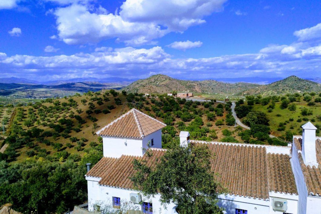 Hacienda uitzicht